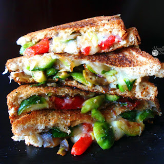 Brussels Sprouts Grilled Cheese.