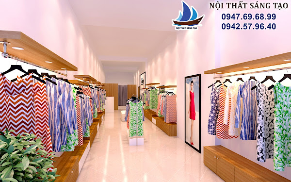 thiết kế cửa hàng quần áo chuyên nghiệp