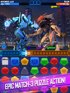 Pacific Rim Breach Wars – Robot Puzzle Action RPG MOD 1.4.1 (Instant Win) Apk 7