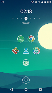 Pixel Stripes Icon Pack Screenshot
