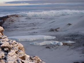 Photo: Jég a kráterben