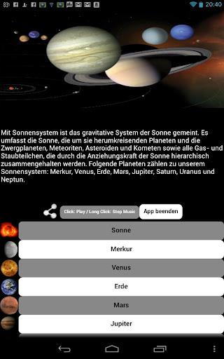 Unser Sonnensystem - Planeten