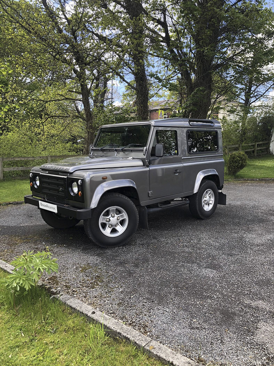 Land Rover Defender 90 Hire Manchester