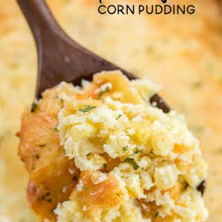 Parmesan Corn Pudding.