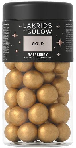 Gold 2020- sötlakrits med vit choklad och hallon – Lakrids by Bülow