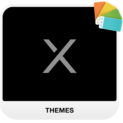 BLACK X Xperia Theme 1 0 1 + (AdFree) APK for Android