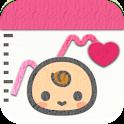 妊娠・生理・排卵日予測もできるグラフアプリ~基礎体温ツール icon