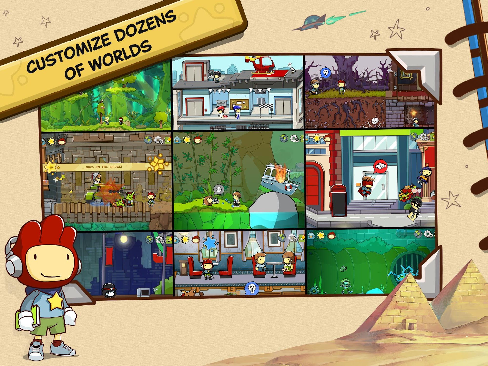 Scribblenauts Unlimited screenshot #10