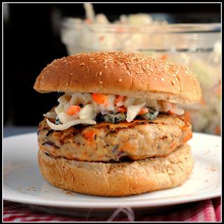 Buffalo Chicken Burgers.