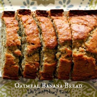 Oatmeal Banana Bread.