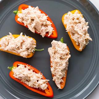 Quick Tuna Peppers.