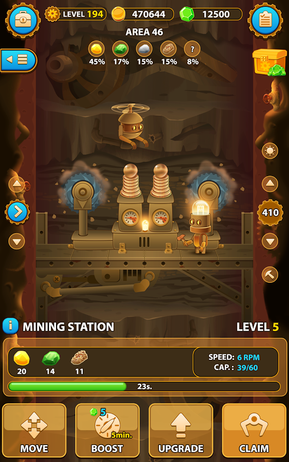 Deep Town: Mining Factory- screenshot