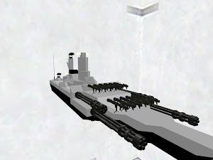 火力ガン詰め戦艦