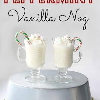 Peppermint Vanilla Nog.