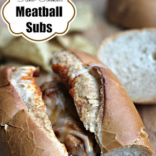 Meatball Subs in the Slow Cooker