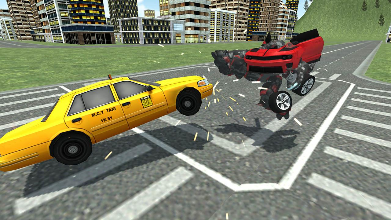 Car Robot Simulator- screenshot