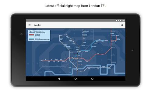 Tube Map London Underground 18