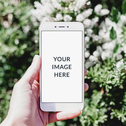 Outdoor Phone Mockup - Instagram Post Template
