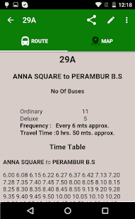 MTC bus route- screenshot thumbnail
