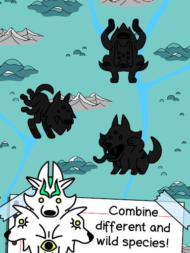 Wolf Evolution - Merge and Create Mutant Wild Dogs 1.0.1 screenshots 7