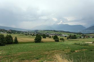 Photo: Gdy deszcz zelżał ruszam dalej w kierunku przełęczy Mendola.