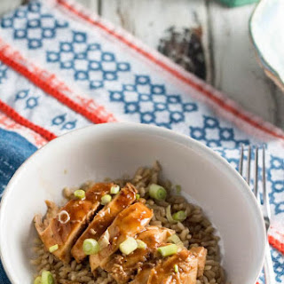 Kid-Friendly Baked Sweet and Sour Chicken.