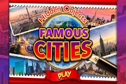 Hidden Object Famous Cities