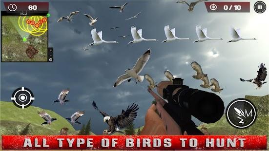 Flying Birds Hunting 3D: Eagles Pigeon Duck Hunter - náhled