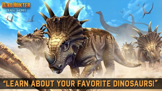 DINO HUNTER: DEADLY SHORES MOD Apk (Unlimited Money) 4