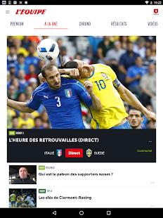 L'Equipe.fr : foot, rugby Screenshot 13