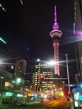 Photo: Sky Tower at Night