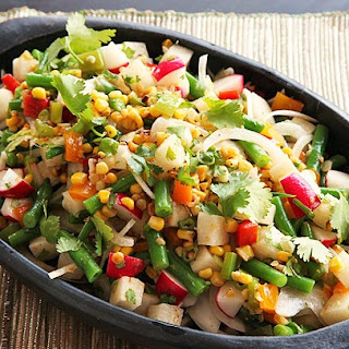 Green Bean and Jicama Salad