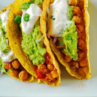 Chickpea Taco (Vegan, Gluten-Free)