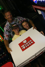 """Photo: We now chop our huge 28"""" pizza into 12 jumbo slices.  Each slice is 14"""" long."""