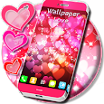 Hearts Glare Light Live Wallpaper icon