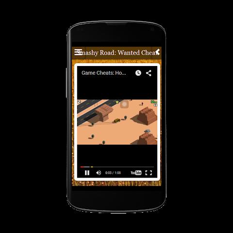 android Smashy Road Wanted Cheats Free Screenshot 2