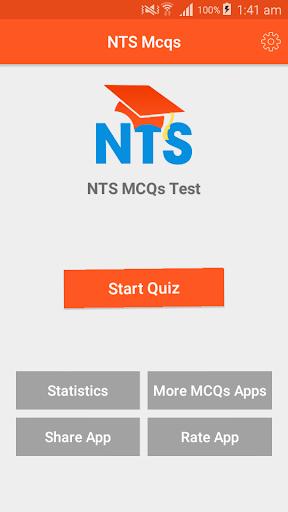 NTS MCQs: Test Preparation 2019 3.0.1 screenshots 1