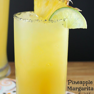 Pineapple Margaritas for #CocktailDay.