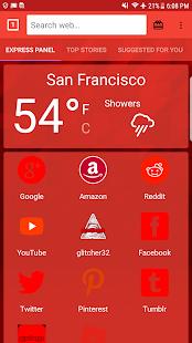 glitcher32 Browser - náhled
