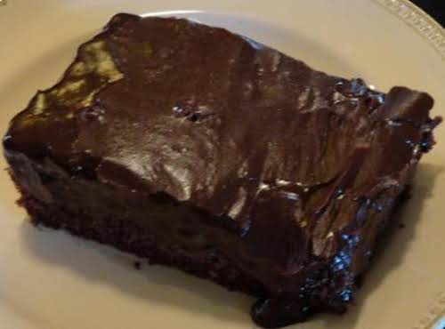 "Mom's Chocolate Decadent Cake ""I made it for a family gathering and it..."