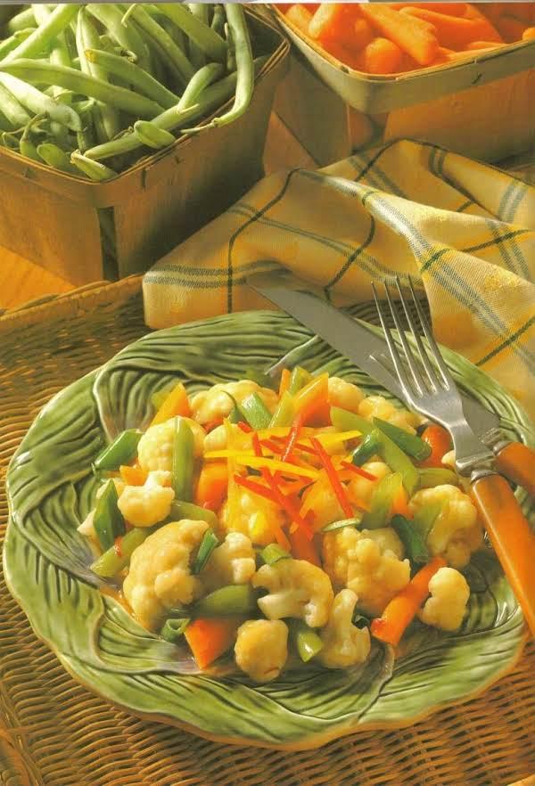 Zesty Mixed Vegetables Recipe
