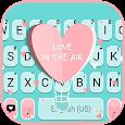 Girly Love Keyboard Background