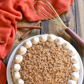 Maple Streusel Pumpkin Cake