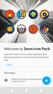 Zorun - Icon Pack Screenshot