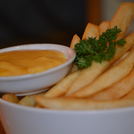 French Fries and Cheese by Diadjeng Laraswati H - Food & Drink Meats & Cheeses ( breakfast, french fries, cheese )