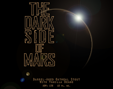 The Dark Side of Mars - BBA Vanilla Oatmeal Stout