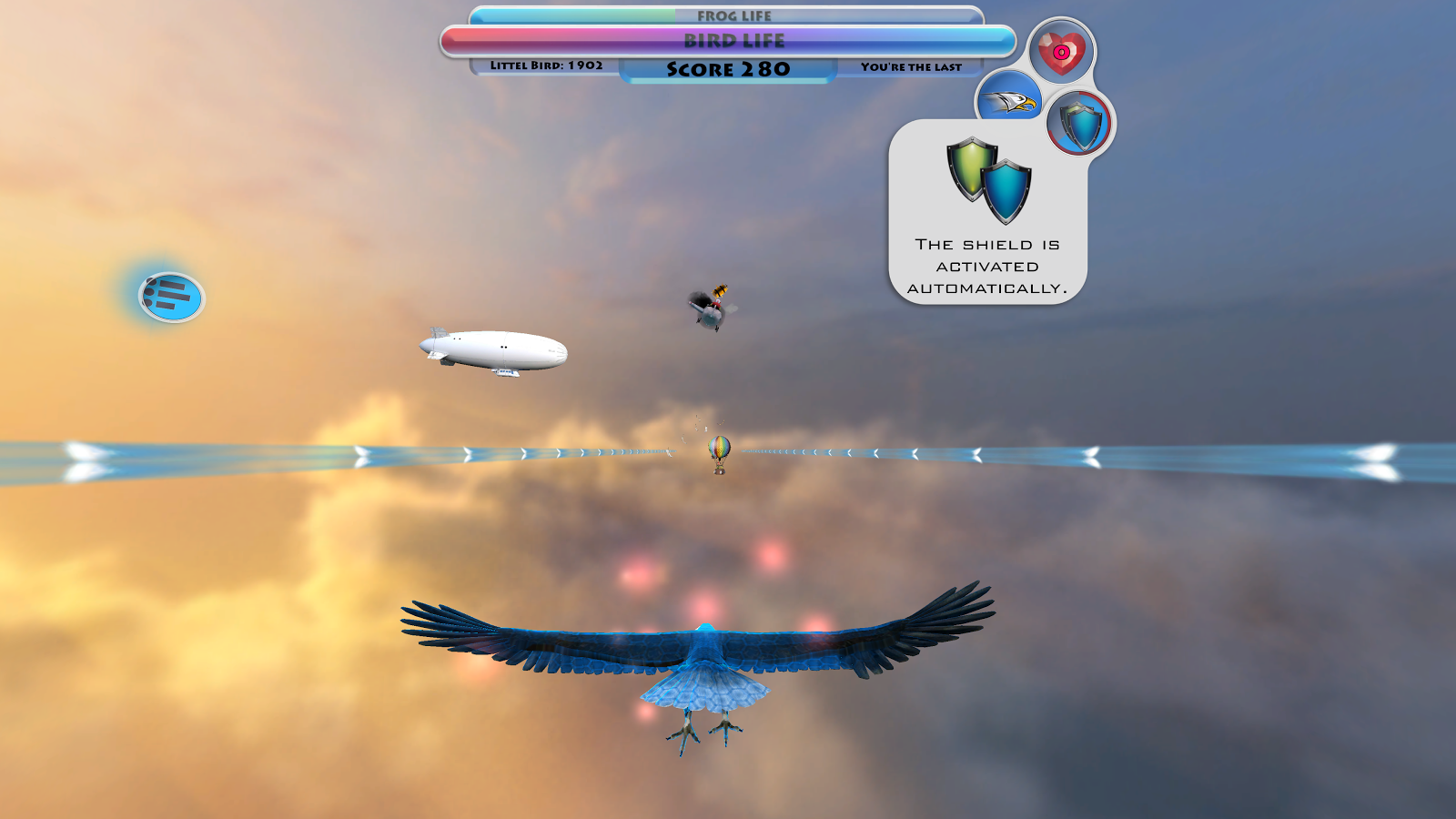 Moon Bird VR- screenshot
