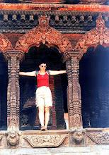 Photo: Patan - świątynia Bhimsen Mandir / Bhimsen Mandir temple