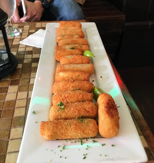Chicken croquettes from the food tour