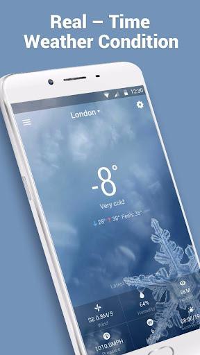 10 Day Transparent Weather Wid  screenshots 3